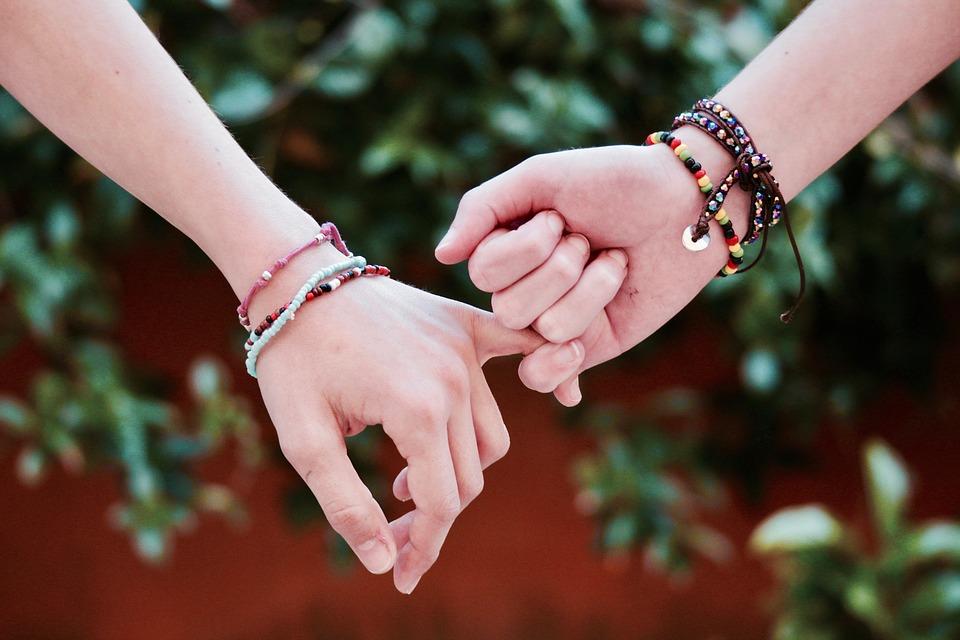 pulseras para amigas simbolos de amistad